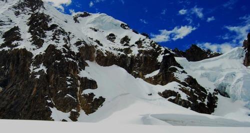 cara sureste del nevado Chicón
