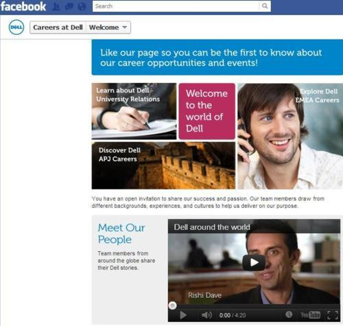 Dell Facebook Page