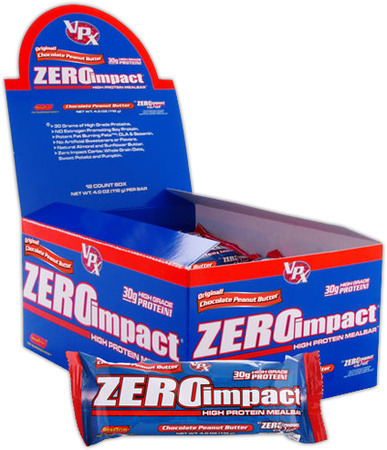 VPX zero protein bars