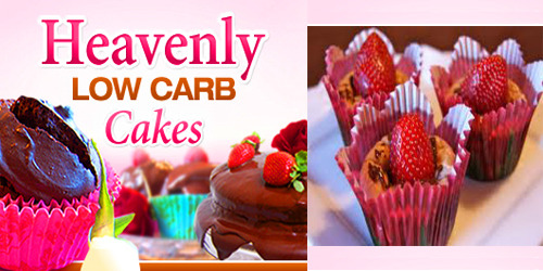 An idea of low carb cake recipes