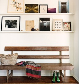 Mark Ruffalo's entryway featured in Domino Magazine