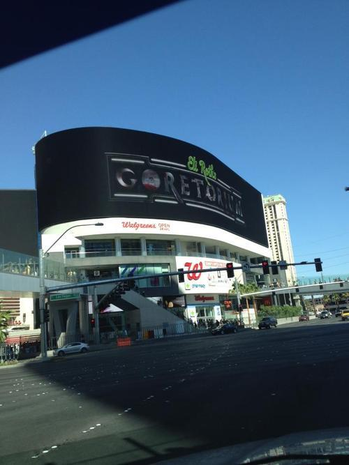 The home of Eli Roth's GORETORIUM on the Las Vegas Strip