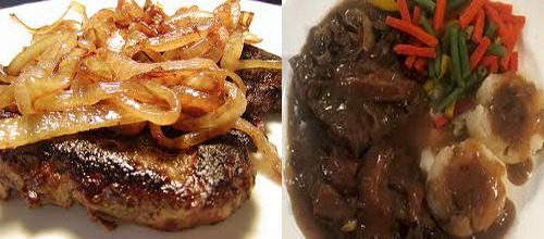 liver and onions ok on low carb diet count