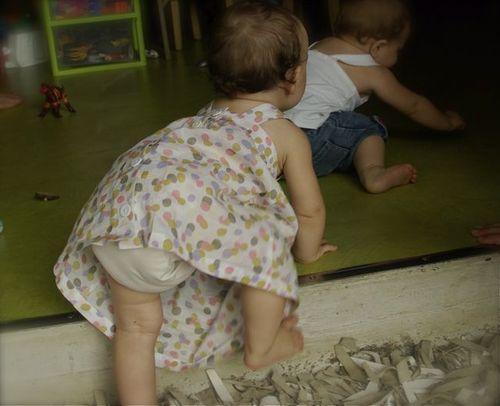 Working mum n'est pas fan des robes pour bébé