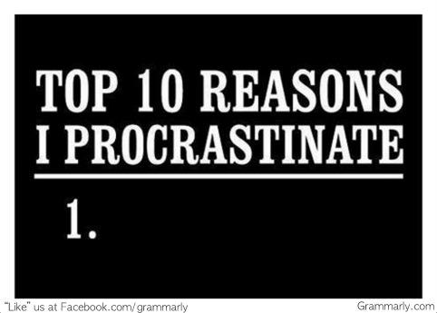 5 Ways to Conquer Procrastination
