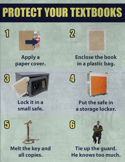 Protect Your Textbooks
