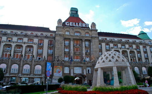 The Gellert Hotel & Baths in Budapest, Hungary