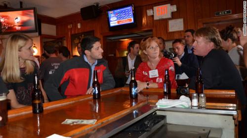 OMG Paul Ryan! - OMG Paul Ryan drinking a beer at a bar