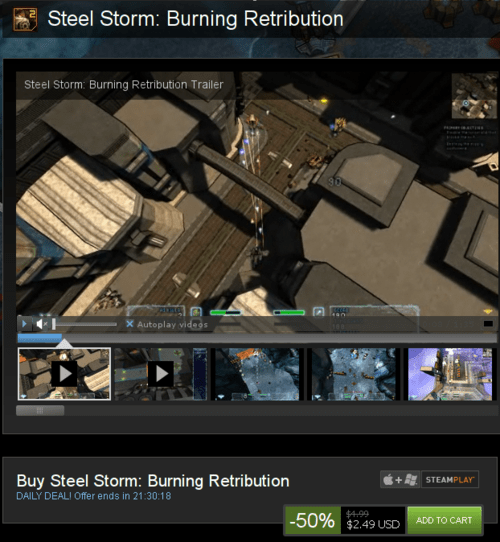 """""""fuel-the-fire-for-steel-storm-2-development-through-steam-pc-sale"""""""