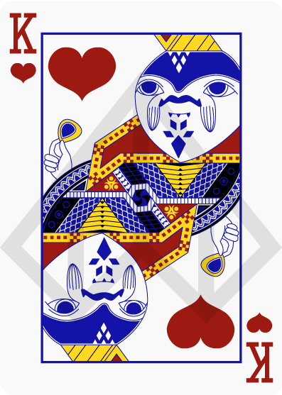 Zelda-Legend-Playing-Cards-by-Nelde-King-of-Hearts
