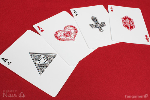 Zelda-Legend-Playing-Cards-Aces