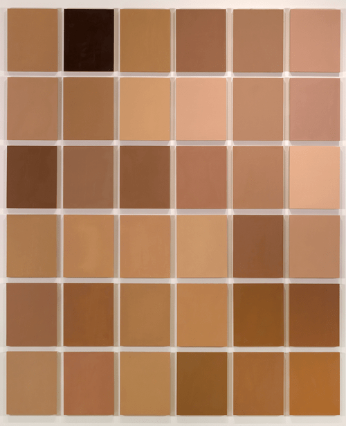 shades of brown paint - best painting of all time