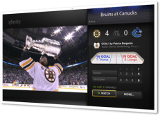 Sports App on X1