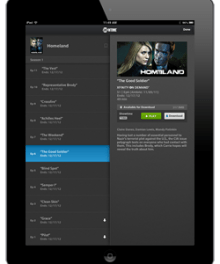 XFINITY Player App on iPad