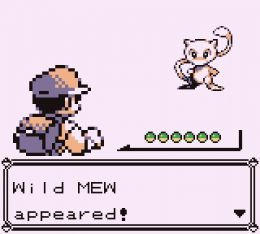 Catch mew in pokemon red