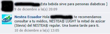 Nestea Ecuador en Facebook