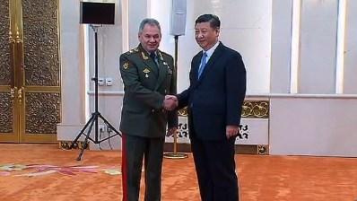 Bildergebnis für Шойгу встретился с председателем КНР Си Цзиньпином