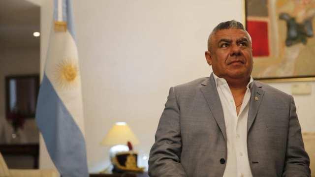 La Conmebol retiró a Claudio Tapia de su cargo