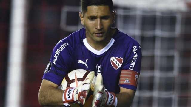 Martín Campaña volvió a intimar a Independiente