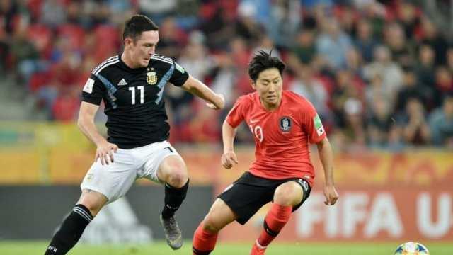 Mundial Sub 20: La Selección Argentina cayó ante Corea del Sur pero terminó primera