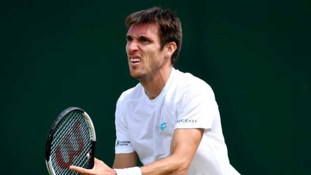 Leonardo Mayer, eliminado en Wimbledon