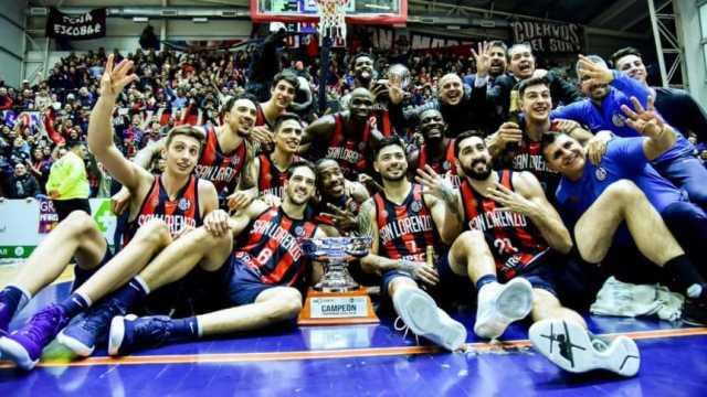 Histórico: San Lorenzo venció a Instituto y es tetracampeón de la Liga Nacional