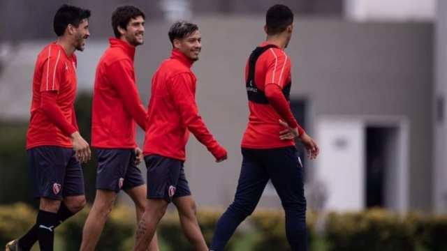 Gaibor y Albertengo se despidieron del plantel de Independiente