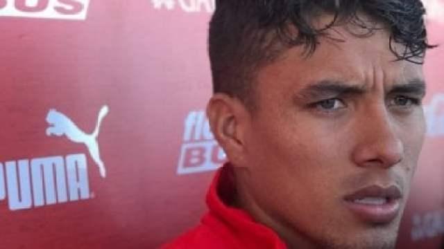 Roa fue presentado en Independiente: 'Quiero lograr cosas importantes'
