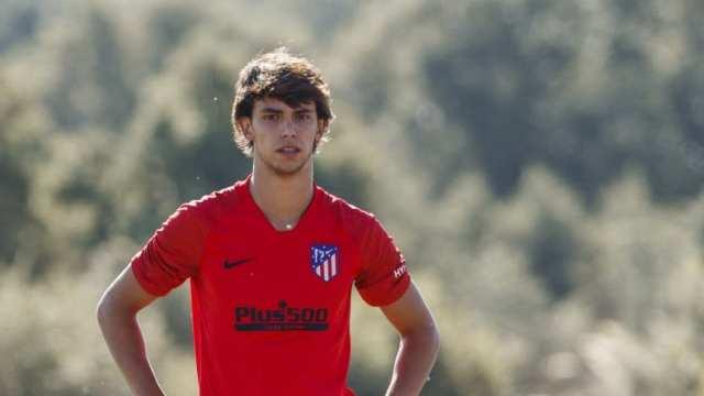 Joao Félix se lesionó en su debut en el Atlético de Madrid