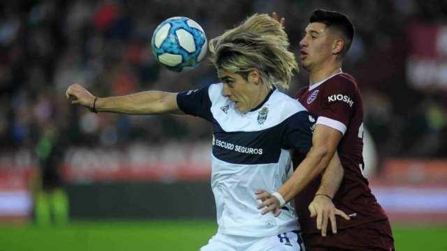 Superliga: Lanús pegó primero, pero Gimnasia lo empató en el Sur