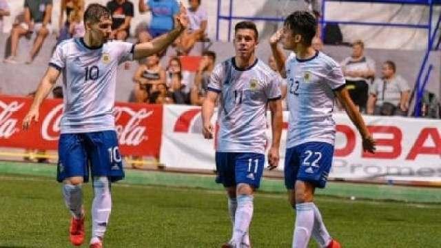 Sub 18: Argentina goleó a Mauritania en el debut en L'Alcudia