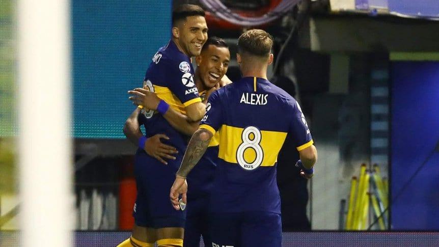 La tabla de posiciones de la Superliga, con Boca en lo más alto