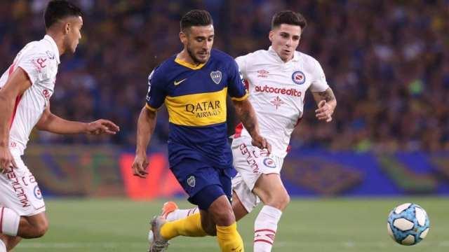 Boca, Argentinos y un empate que los deja en la punta a los dos