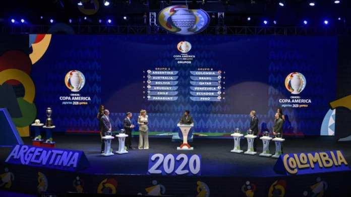 Los grupos de la Copa América