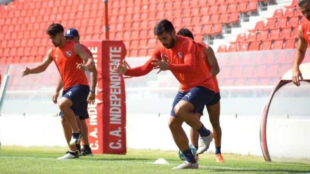 Independiente: Silvio Romero, el único punta ante River