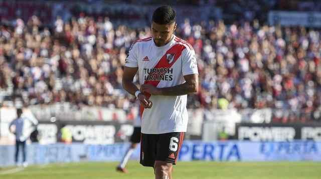 Gallardo destacó el sacrificio del equipo ante la expulsión de Paulo Díaz