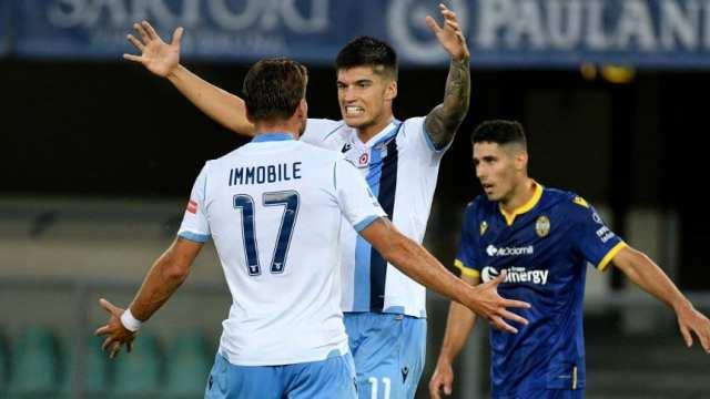Serie A: Lazio ganó con gol de Correa, pero no le alcanzó