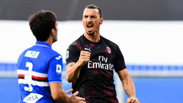 Milan ganó con doblete de Ibrahimovic y clasificó a la Europa League