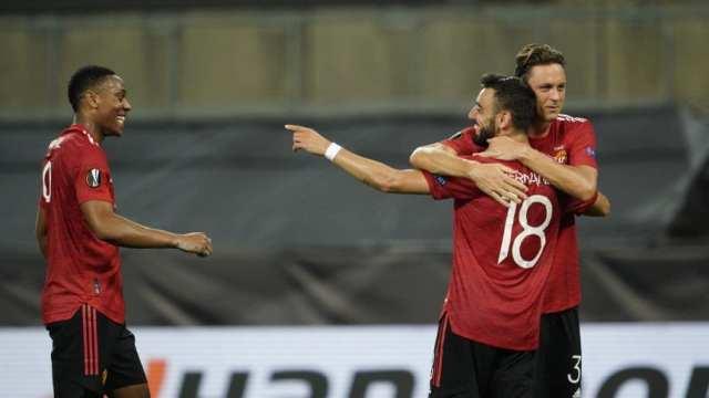 Manchester United se metió en las semifinales de la Europa League