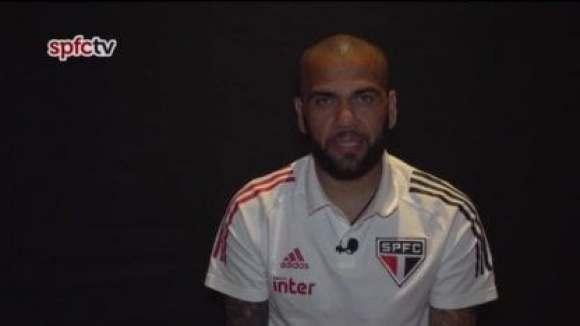 """Dani Alves, sobre el partido contra River: """"En nuestra mente solo hay un resultado y por eso vinimos aquí"""""""