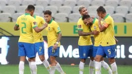 Brazil thrashed Bolivia at the start of the South American Qualifiers