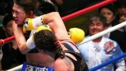 Daniela Bermúdez vs japonesa