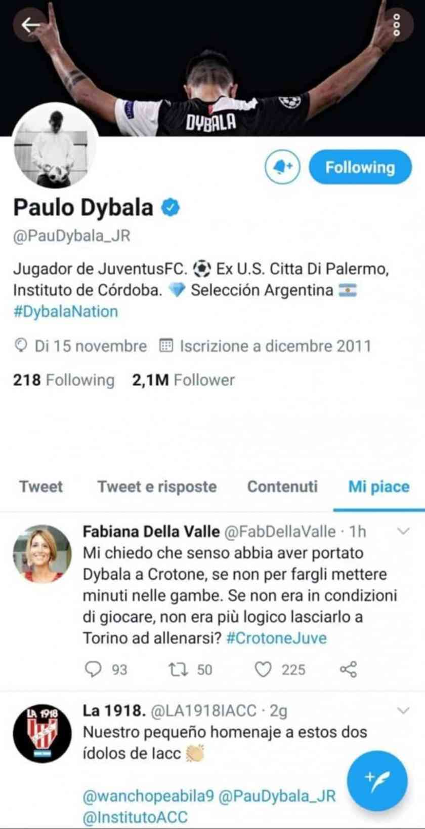 Tension with Dybala at Juventus: fight in the locker room and a