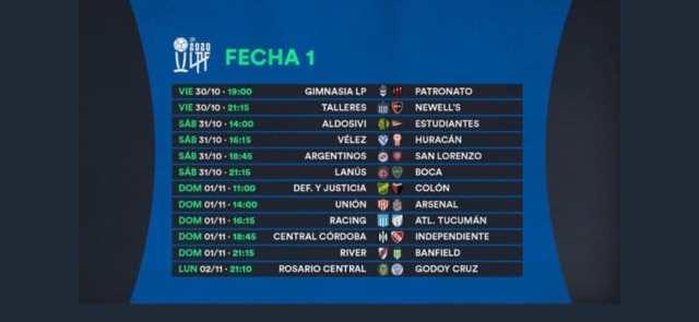 En el cumpleaños de Maradona, Gimnasia y Patronato abrirán la Copa de la Liga Profesional