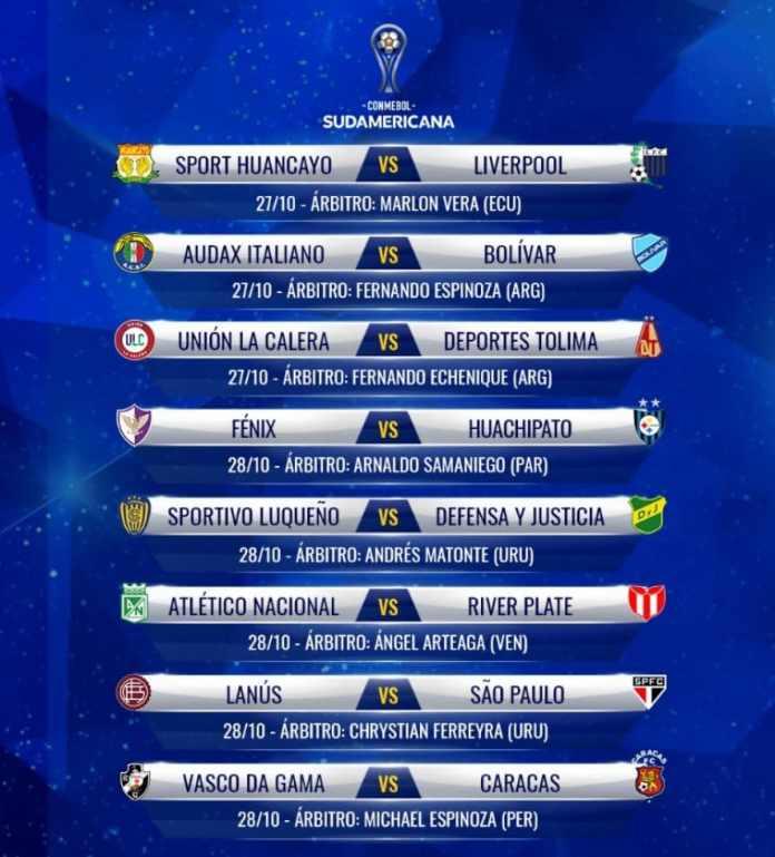 Copa Sudamericana: árbitros designados para los equipos argentinos