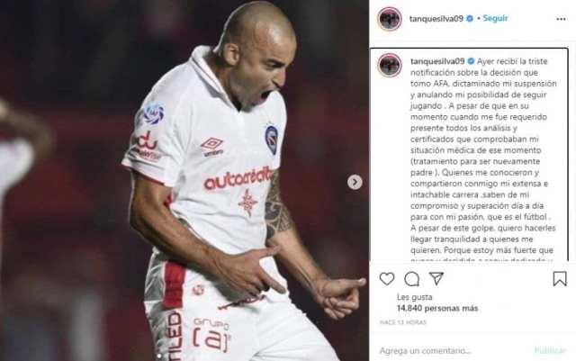 Silva y su sanción por doping positivo: 'Estoy más fuerte que nunca'