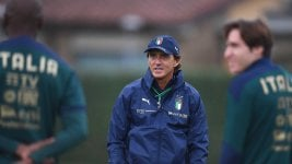 Roberto Mancini, positive for coronavirus in the previous Nations League