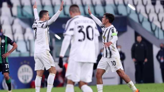 Con goles de Cristiano y Morata, Juventus venció a Ferencváros y clasificó