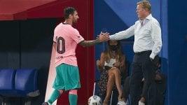 Ronald Koeman's praise for Lionel Messi:
