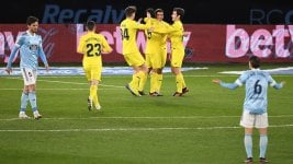 Eduardo Coudet's Celta lost by thrashing with Villarreal and stretched his bad moment